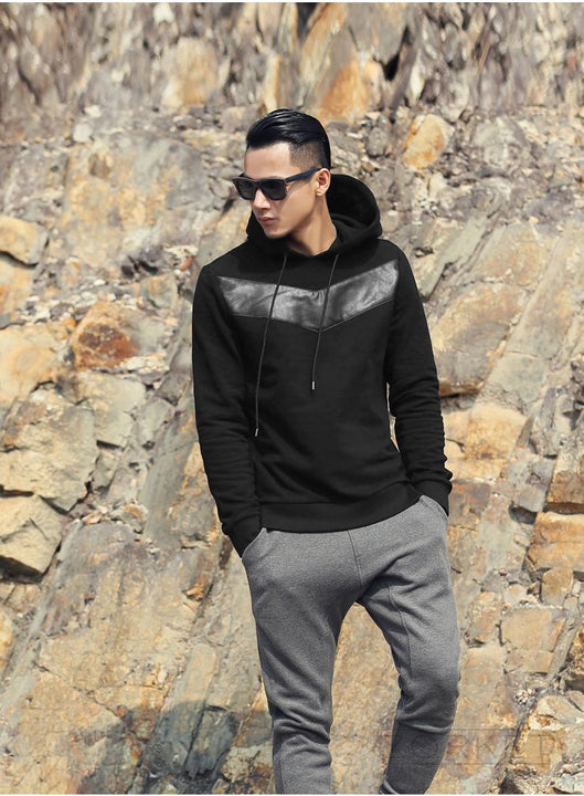 Stylish Mens Hoodie With Long Sleeve - Zorket