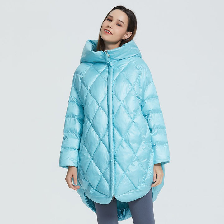 Women's Winter Casual Polyester Loose Parka