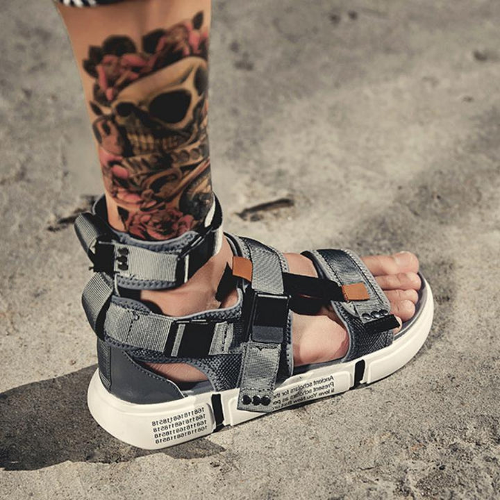 Men's Summer Canvas Platform Sandals