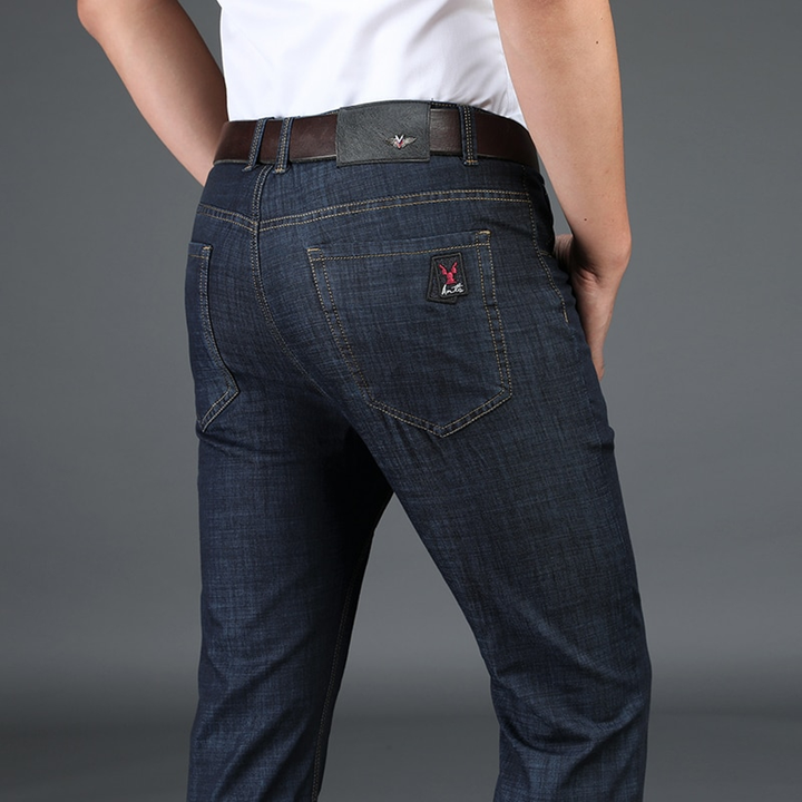 Men's Casual Slim Straight Jeans