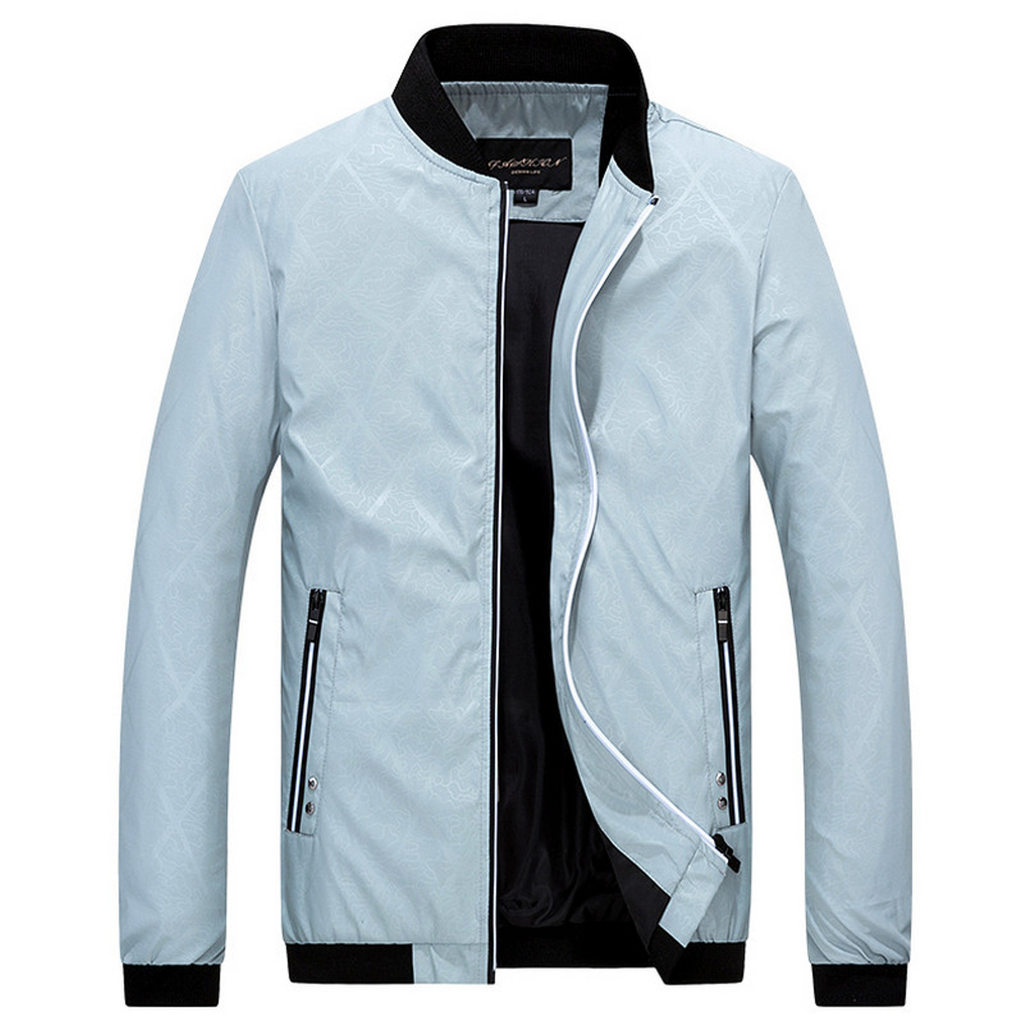 Men's Spring/Autumn Casual Stand Collar Bomber