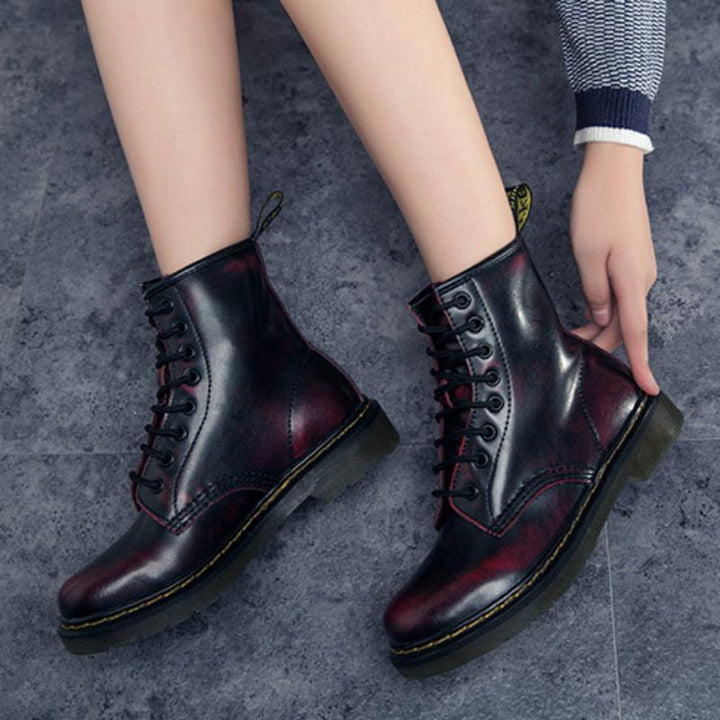 Women's Spring/Winter Genuine Leather Ankle Boots