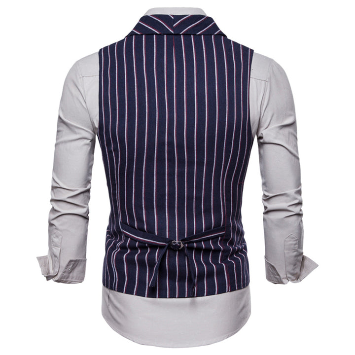 Men's Autumn Casual Striped Vest