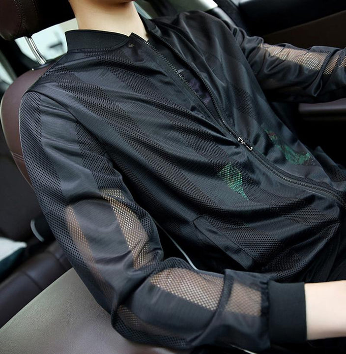 Men's Autumn Thin Mesh Jacket