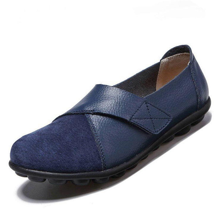 Women's Genuine Leather Flats | Plus Size
