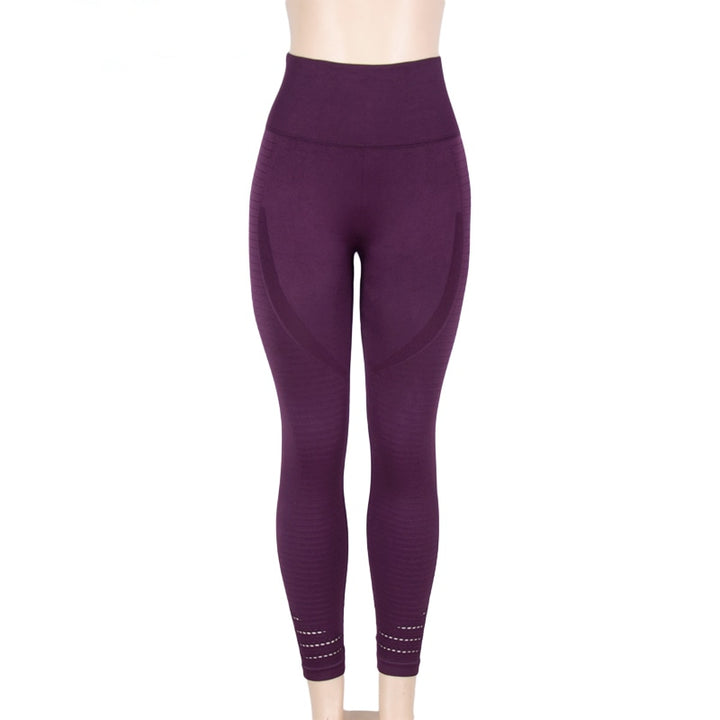 Women's Casual Spandex High-Waist Fitness Leggings