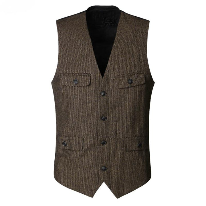 Men's Winter Casual Woolen Vest