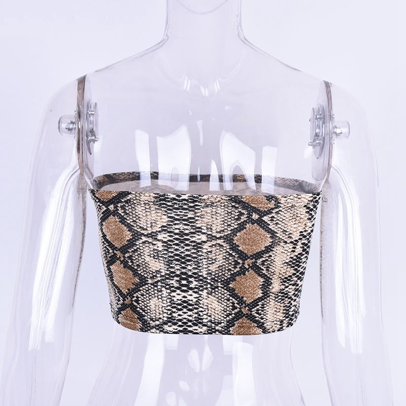 Women's Top With Snake Print