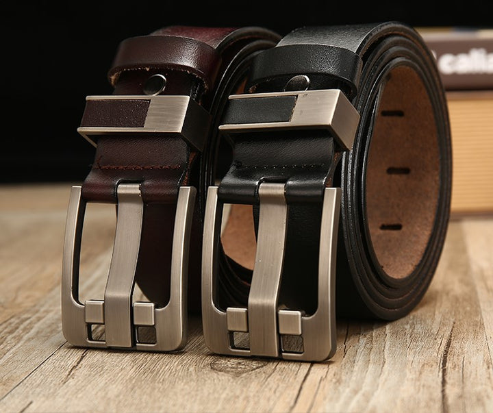 Men's Genuine Leather Luxury Belt
