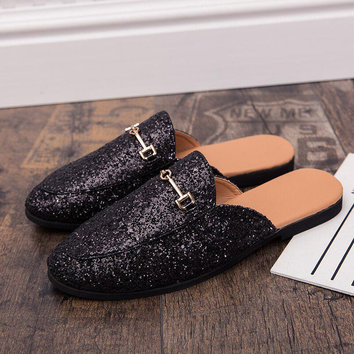 Men's Summer Casual Flip Flops With Sequins