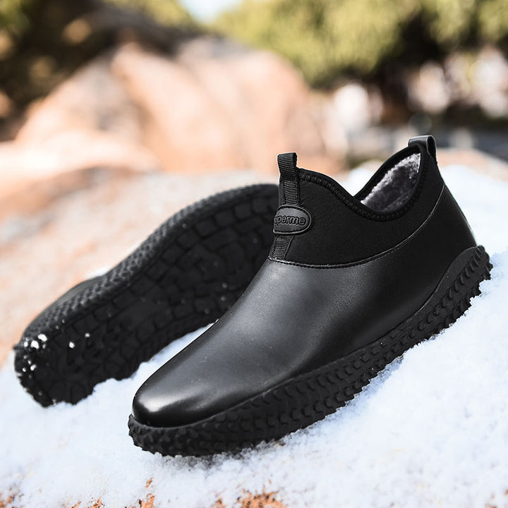 Men's Winter Rain Boots | Plus Size