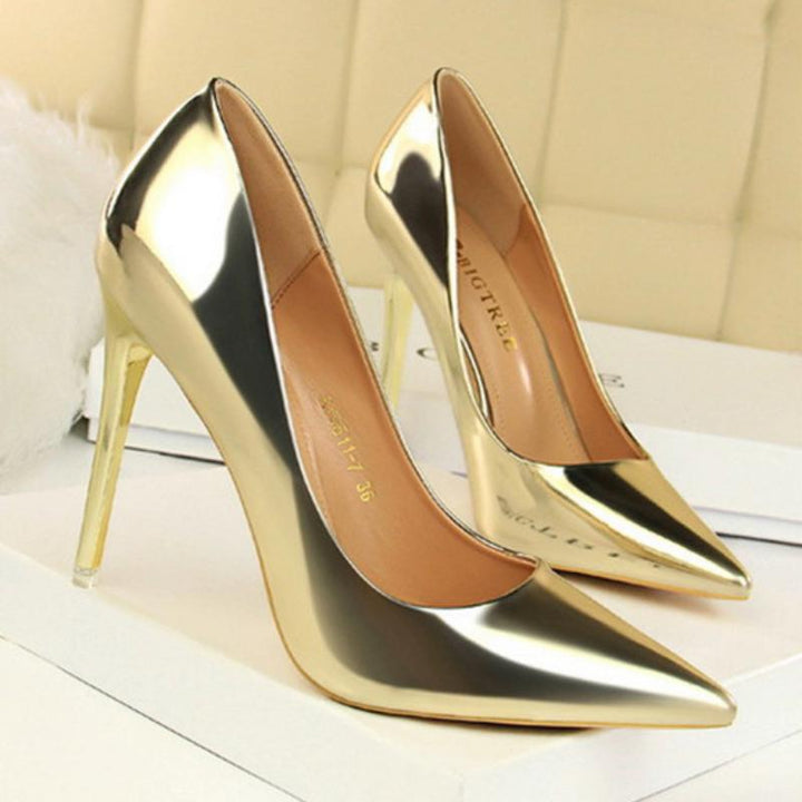 Women's Patent Leather Pumps