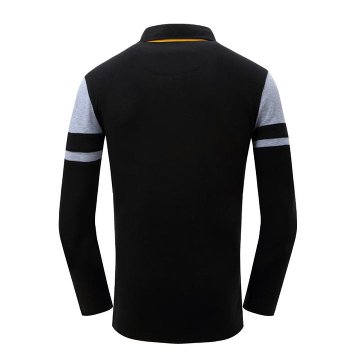 Men's Autumn Casual Long Sleeved Polo