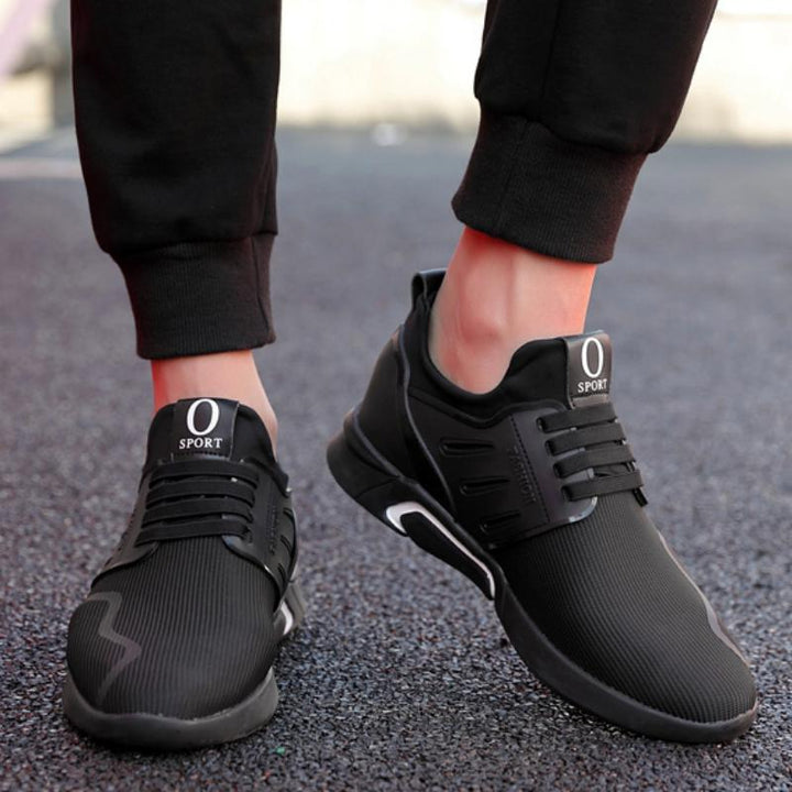 Men's Casual Sneakers With Thick Sole