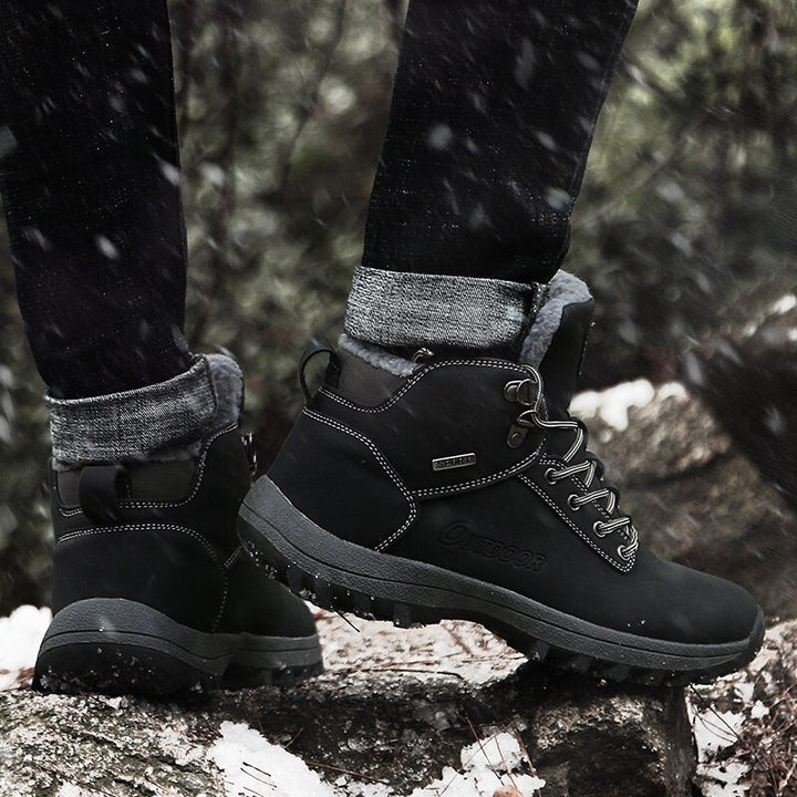 Men's Winter Warm Boots With Plush