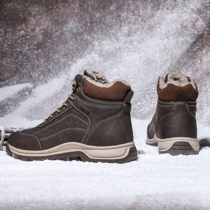 Men's/Women's Winter Boots With Fur | Plus Size