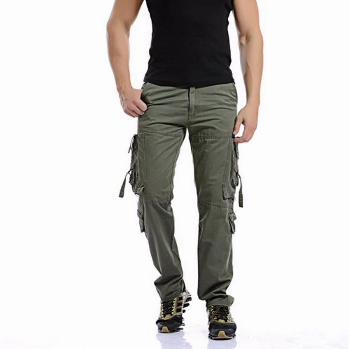 Men's Casual Loose Cargo Pants | Plus Size