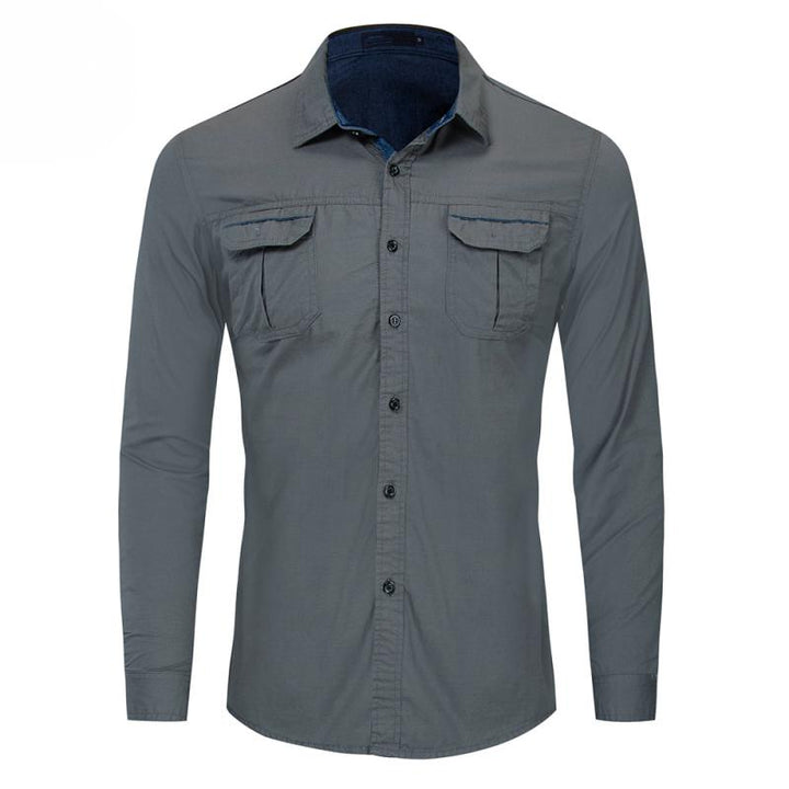 Men's Autumn Casual Long Sleeved Shirt