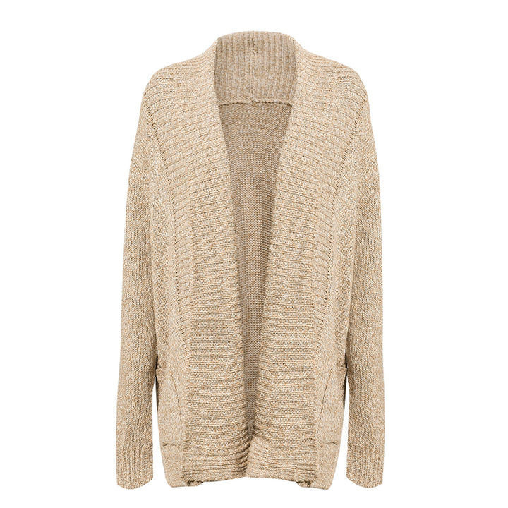 Women's Autumn/Winter Casual Acrylic Long-Sleeved Cardigan