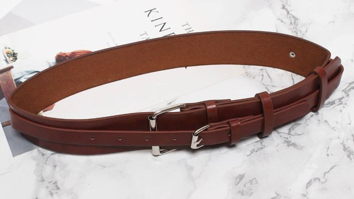 Women's Autumn/Winter Leather Belt
