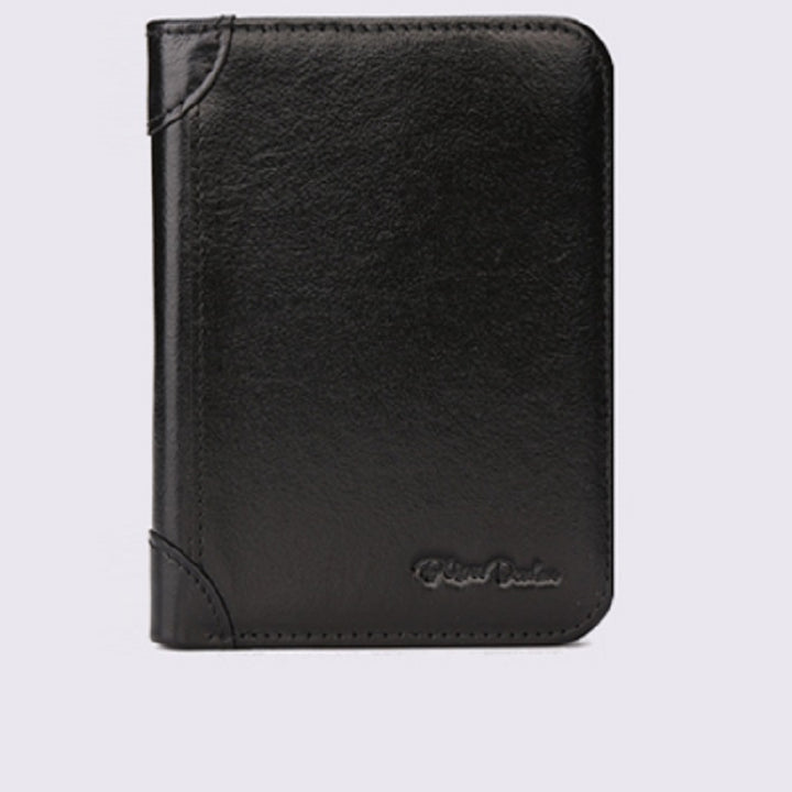 Men's Genuine Leather Wallet With Cardholder