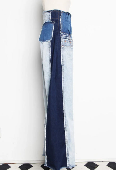 Women's Spring/Summer High-Waist Loose Jeans With Pockets