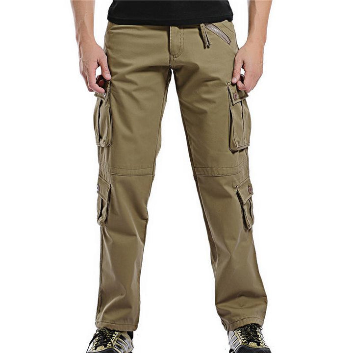 Men's Winter Casual Thick Warm Cargo Pants