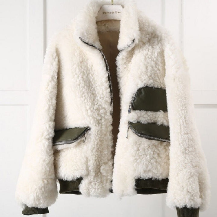Women's Winter Casual Warm Loose Wool Coat