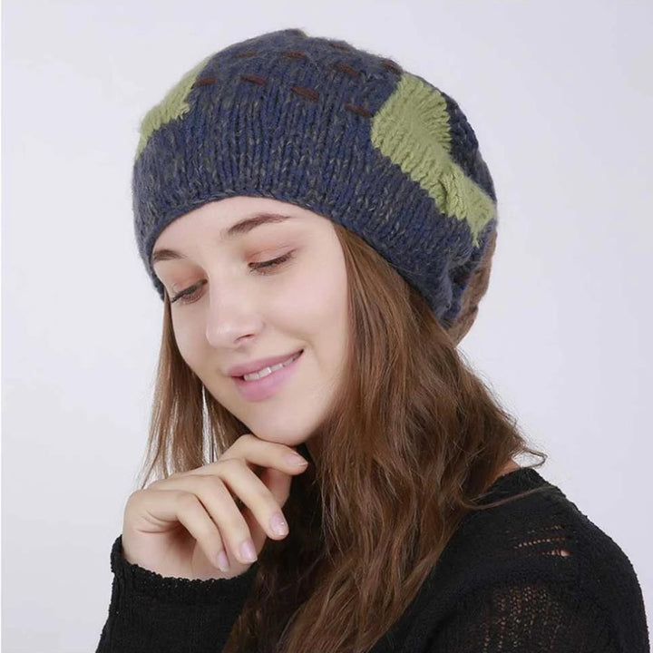 Women's Winter Warm Hat With Pompom