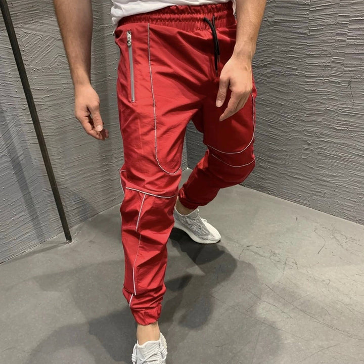 Men's Autumn Casual Sweatpants With Elastic Waist