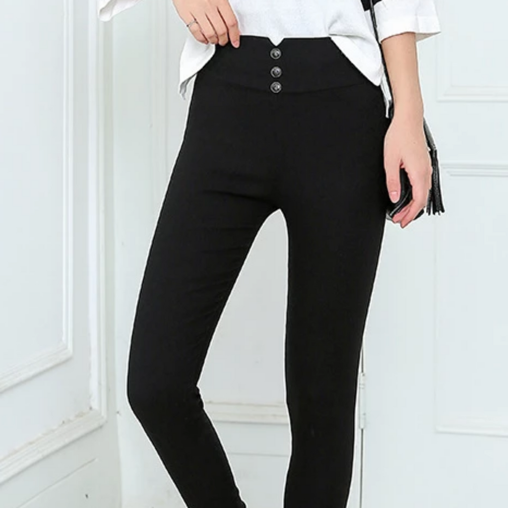 Women's Summer Casual Skinny High-Waist Pencil Pants