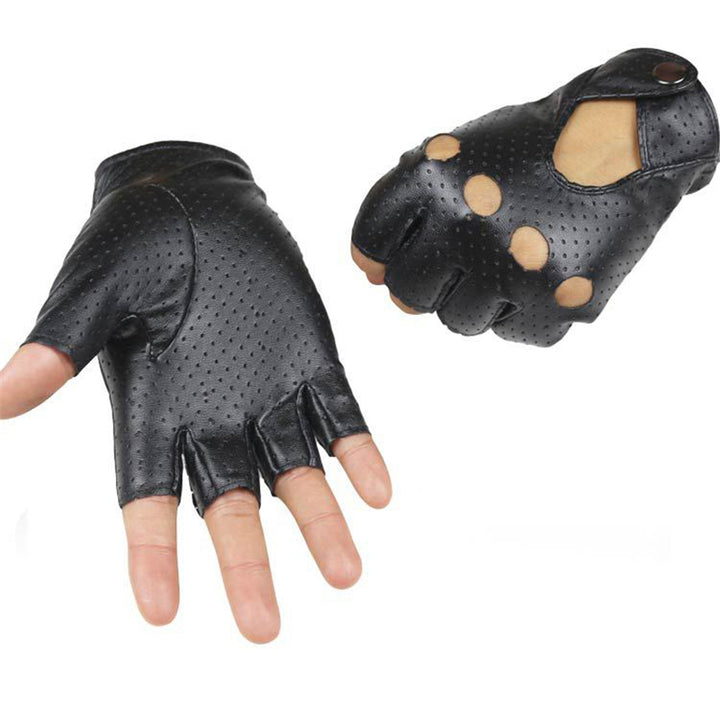 Women's Fingerless Driving Gloves