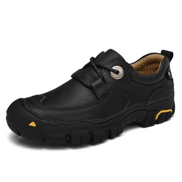 Men's Casual Leather Shoes | Plus Size