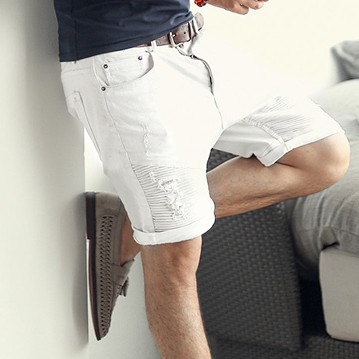 Men's Summer Denim Shorts