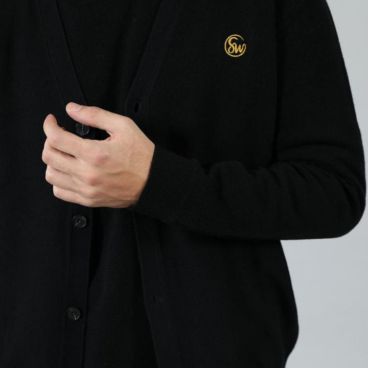 Men's Autumn/Winter Cardigan With Embroidery