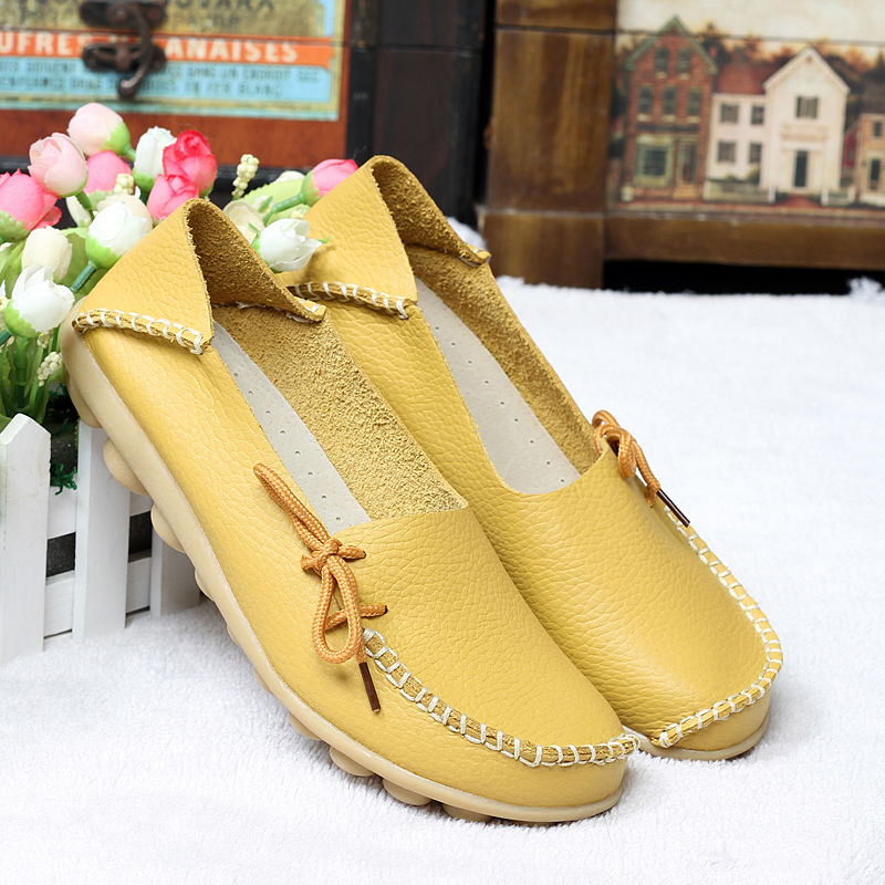 Women's Summer Casual Genuine Leather Moccasins