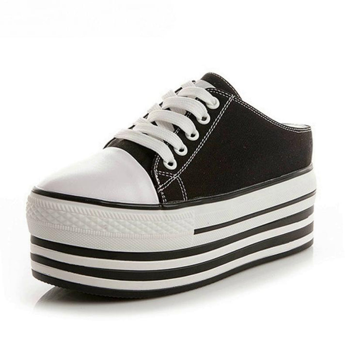 Women's Summer Casual Canvas Platform Shoes