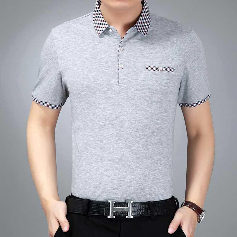 Men's Summer Short Sleeved Polo