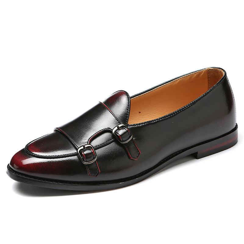 Men's Casual Leather Loafers | Plus Size