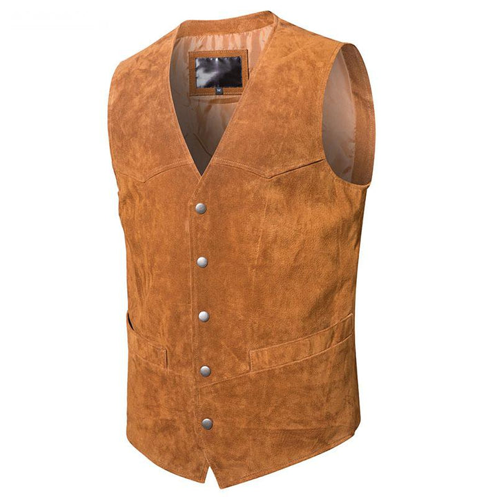 Men's Genuine Leather Vest