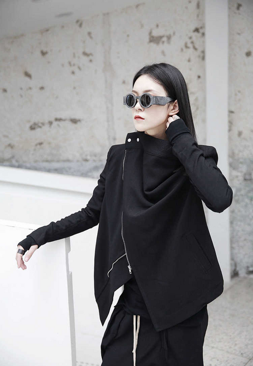 Women's Spring Cotton Long-Sleeve Jacket