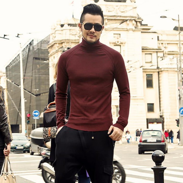 Men's Winter Casual Thick Warm Sweater