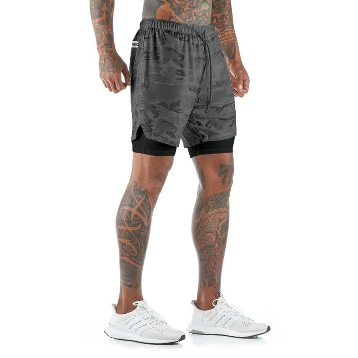 Men's Running Shorts With Zipper Pockets