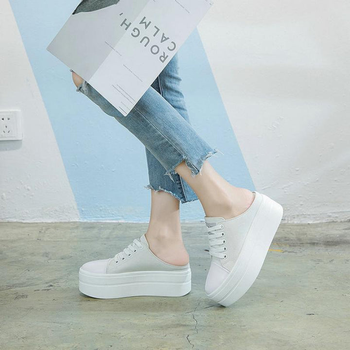 Women's Casual Canvas Platform Shoes