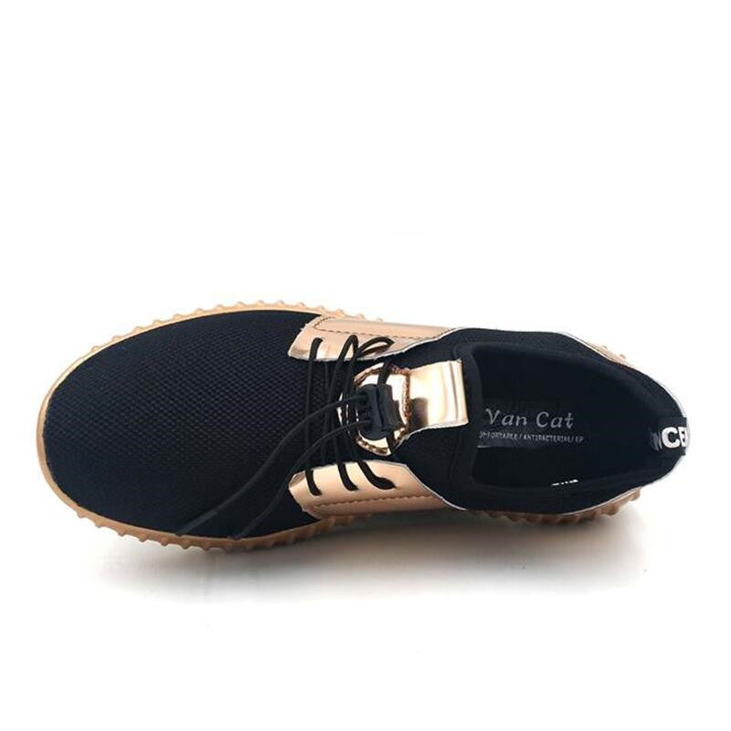 Men's Summer Casual Breathable Flats | Plus Size
