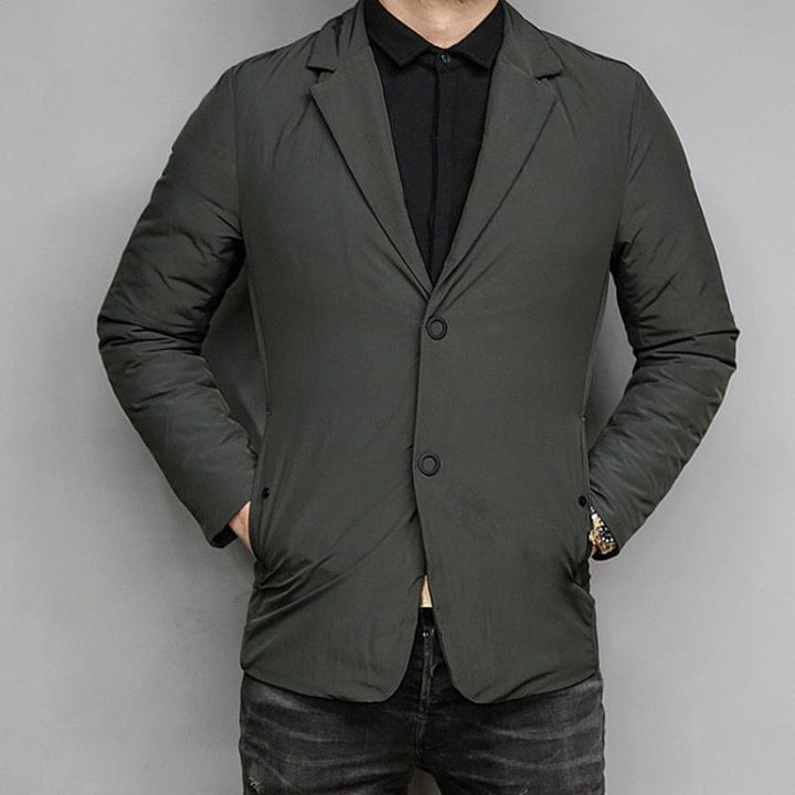 Men's Winter Casual Single Breasted Blazer