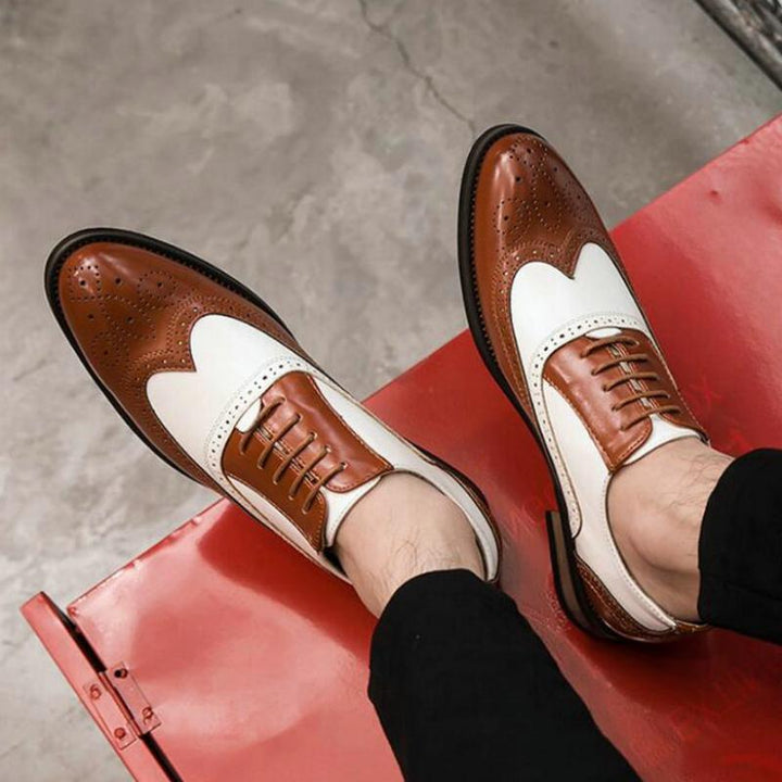 Men's Wedding Leather Oxfords