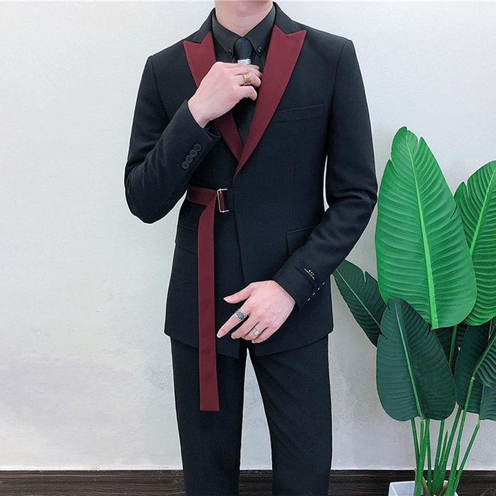 Men's Spring Slim Fit Suit | Blazer & Pants