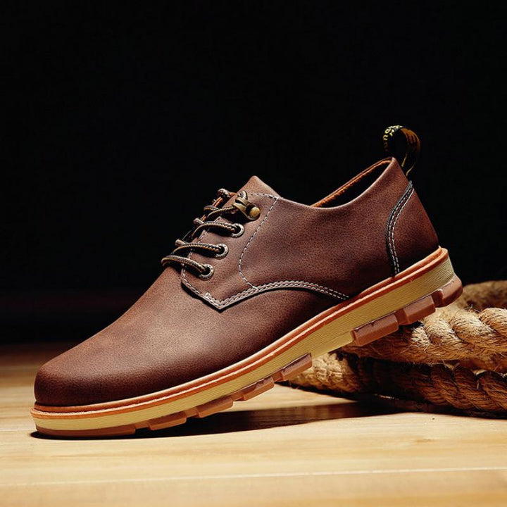 Men's Casual Leather Oxfords