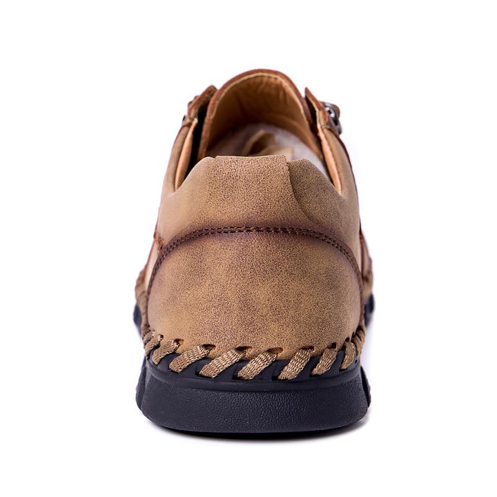 Men's Spring Casual Flat Shoes | Plus Size